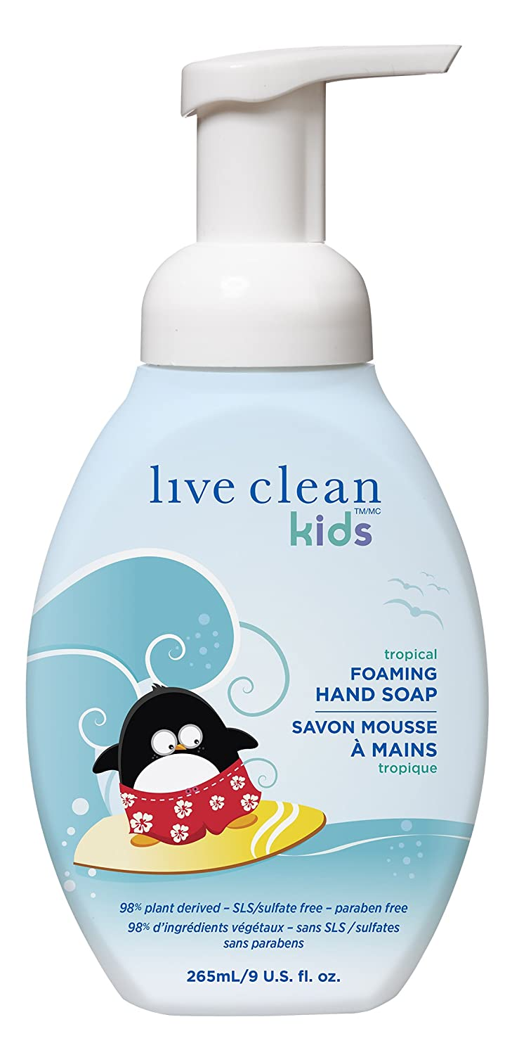 Live Clean 33402 Kids Foaming Hand Soap, 265-Milliliter