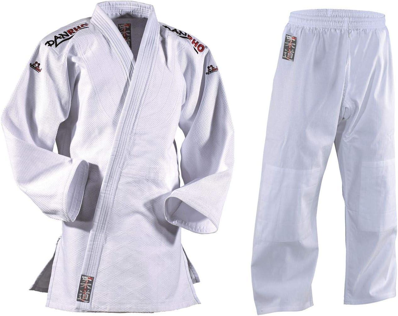 DanRho Traje de Judo Classic, Color Blanco - Blanco, tamaño 180 cm ...