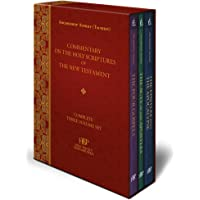 Commentary on the Holy Scriptures of the New Testament: Complete Three Volume Set