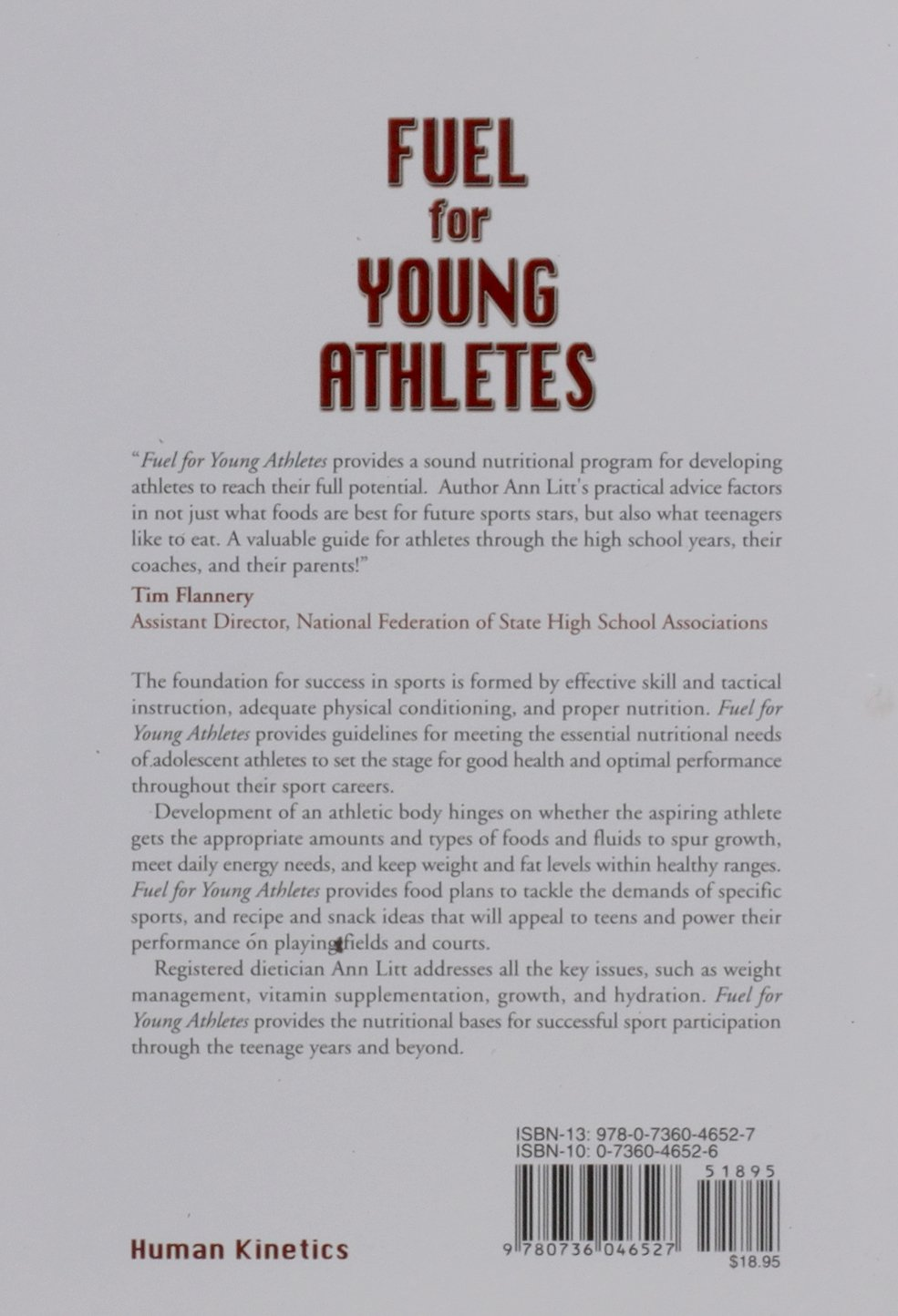 Fuel for Young Athletes: Essential Foods and Fluids for Future Champions by Human Kinetics