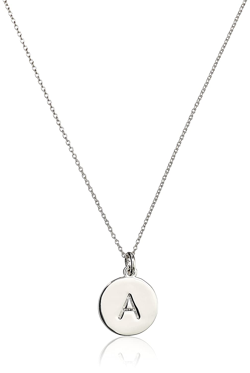 york b jewelry alphabet dp necklace kate pendant new spade com pendants amazon