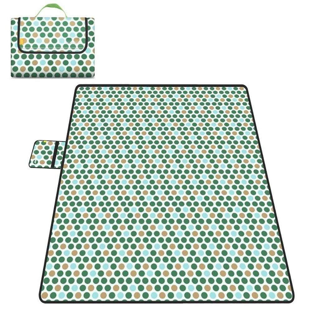 ZKKWLL Picnic Blanket Outdoor Folding Blanket Folding Waterproof Washable Padded Camping Hiking Outdoor Beach mat Beach mat (Color : B) by ZKKWLL