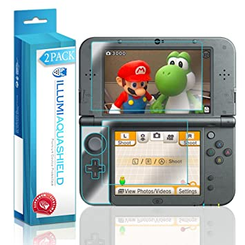 New Nintendo 3DS XL Protector de pantalla (Nintendo 3DS LL ...