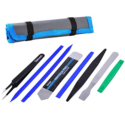 Professional Opening Pry Tool Repair Kit With Non Abrasive Nylon Spudgers  And Anti Static