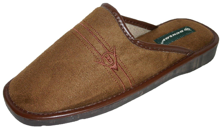 Dunlop Hombre Famoso Andrew Ante sintético Mule Zapatillas: Amazon.es: Zapatos y complementos