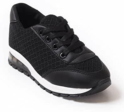 حذاء كاجوال للأولاد والبنات - اسود