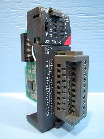 PLC Direct D2-16TD1-2 I/O 24VDC Module PLC Automation Direct