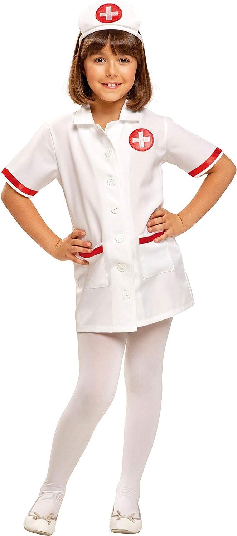 My Other Me - Disfraz de Enfermera, Talla 3-4 años (Viving Costumes MOM00944)