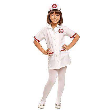My Other Me - Disfraz de enfermera, talla 5-6 años (Viving Costumes MOM00945)