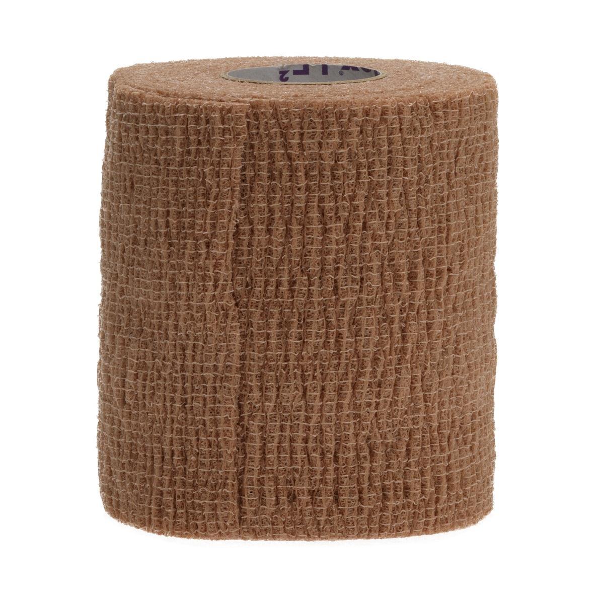 Medline DYNJ089006  Co-Flex LF2 Bandages, Latex Free, Sterile, 6'' x 5 yard, Tan (Pack of 20)