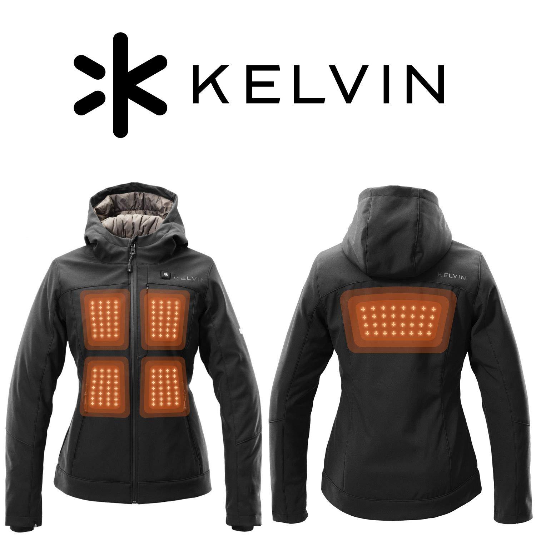 Amazon.com: Kelvin Coats - Chaqueta calefactora para mujer ...
