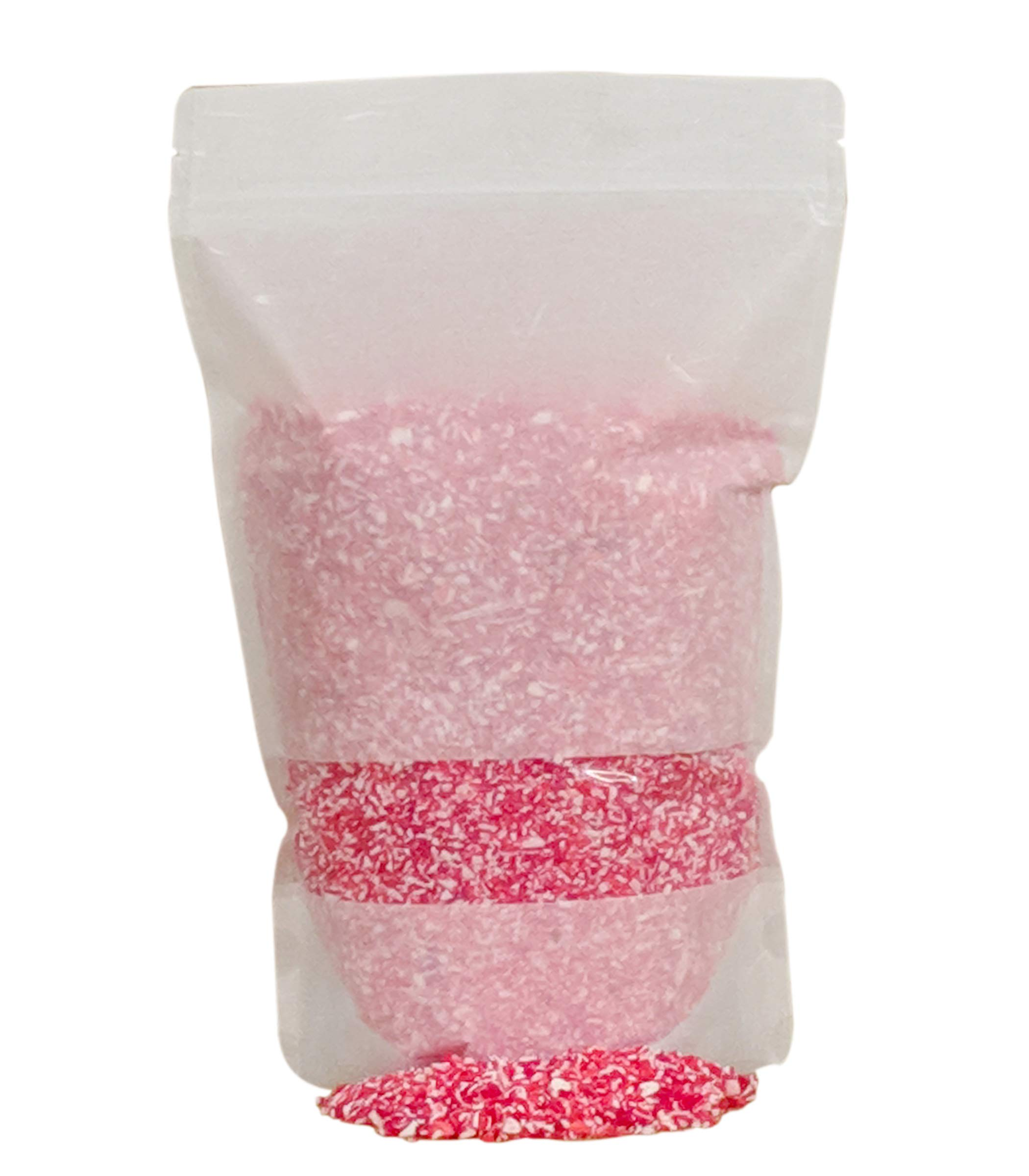 Festival Candy Cane Crunch - Crushed Peppermint Candy Topper Bits - Perfect Holiday Addition To Any Dessert Or Drink - Comes With Scoop And Recipe Card - Christmas Cookie Decorations, Candy Cane (3LB) by BRAND CASTLE