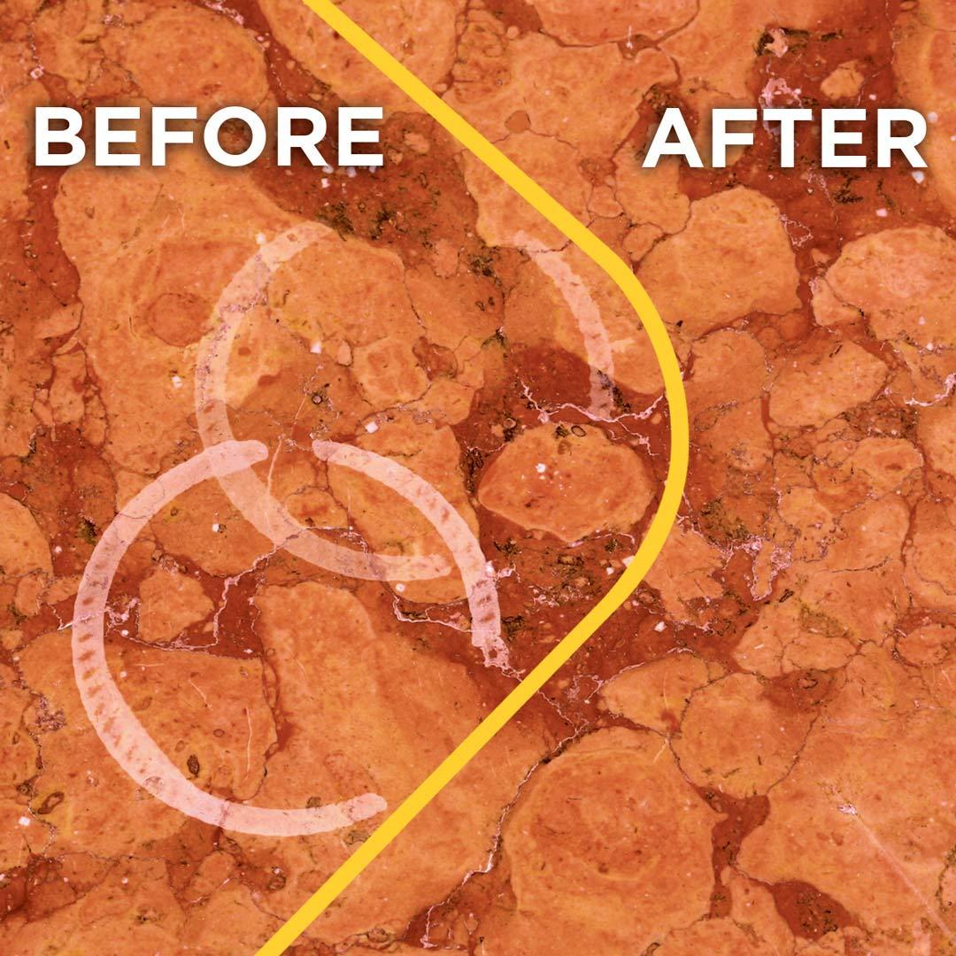FILA Marble Restoration Kit Filamarble Restorer 28 OZ, ideal for Polished Marble Tile, Travertine and Limestone