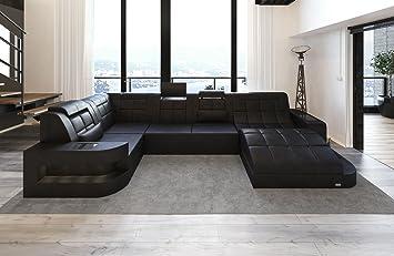 Sofa Dreams Cuero Conjunto de Muebles para Salón Wave Ola en ...