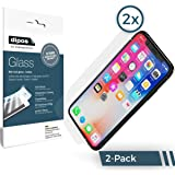 Apple iPhone X Screen Protector - 2x dipos Flexible Glass 9H Display Protection