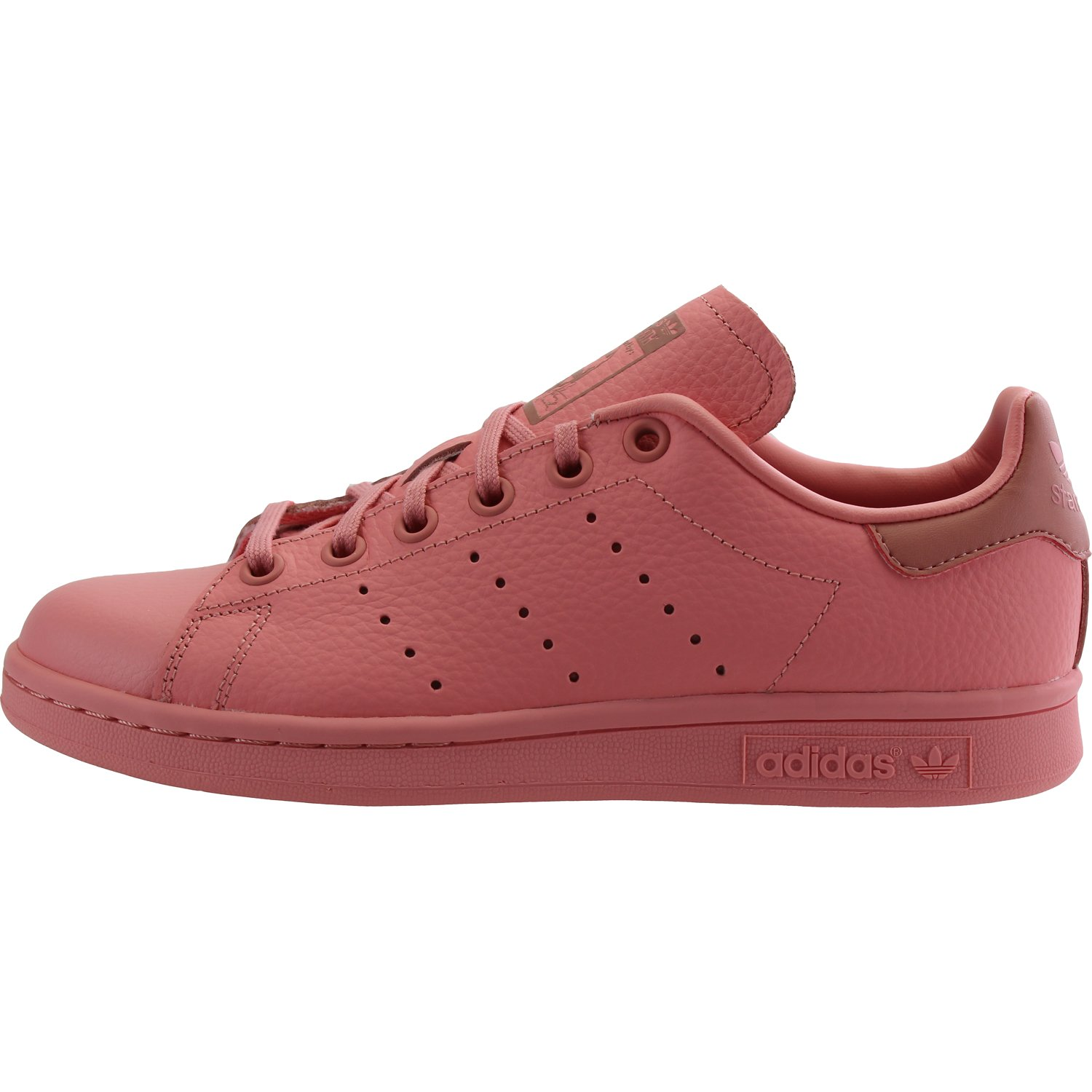 Amazon.com | adidas Originals Stan Smith Tactile Rose Leather 3.5 M US Big  Kid | Shoes