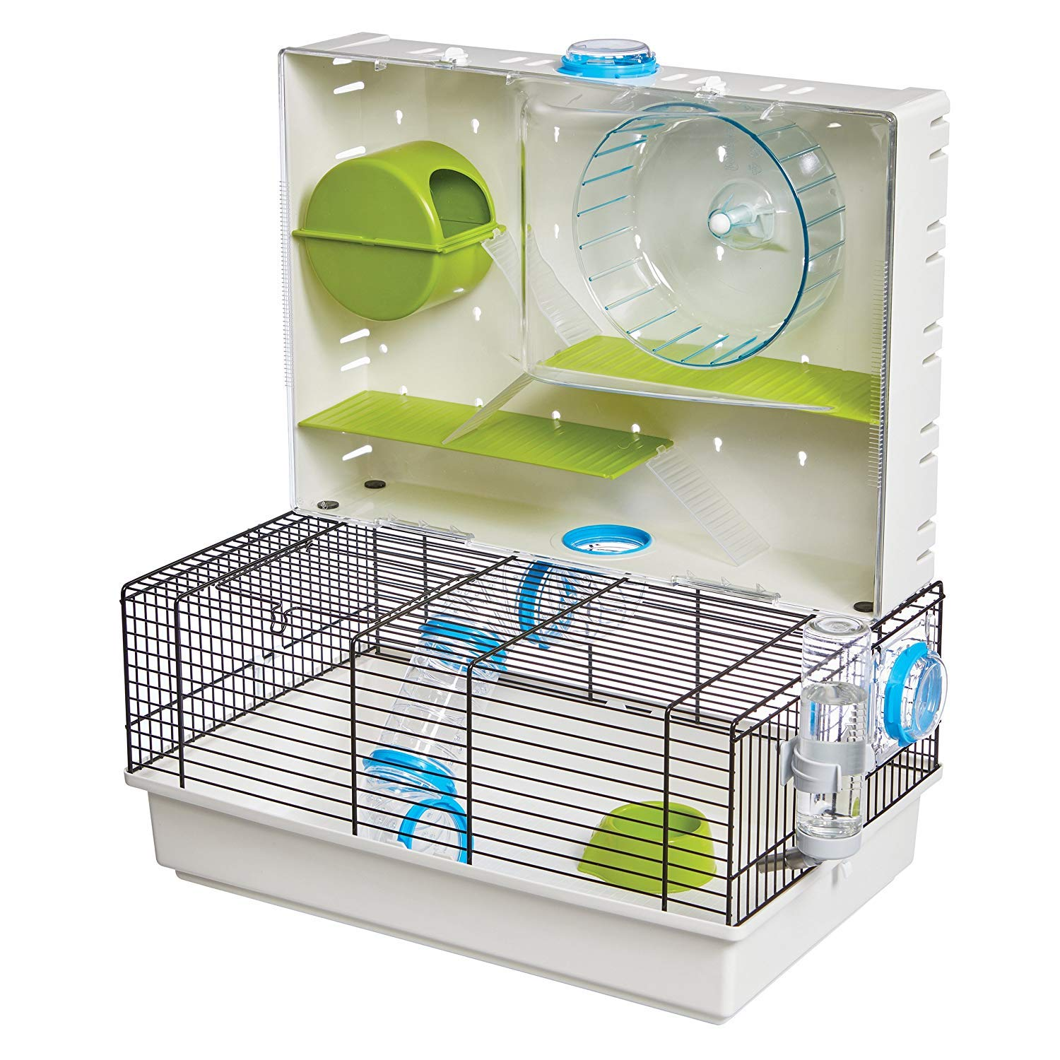 MidWest Homes for Pets Hamster Cage | Awesome Arcade Hamster Home | 18.11'' x 11.61'' x 21.26'' by MidWest Homes for Pets (Image #1)