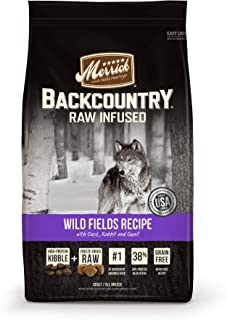 product image for Merrick Backcountry Raw Infused Wild Field Grain Free Dry Dog Food