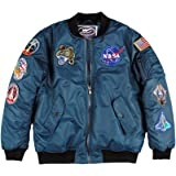 Up and Away NASA Space Shuttle Flight Bomber Jacket