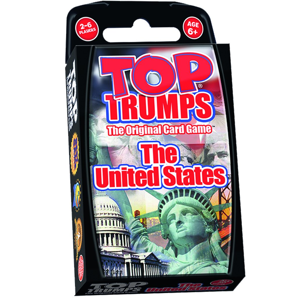 Top Trumps Rules >> United States Top Trumps Card Game