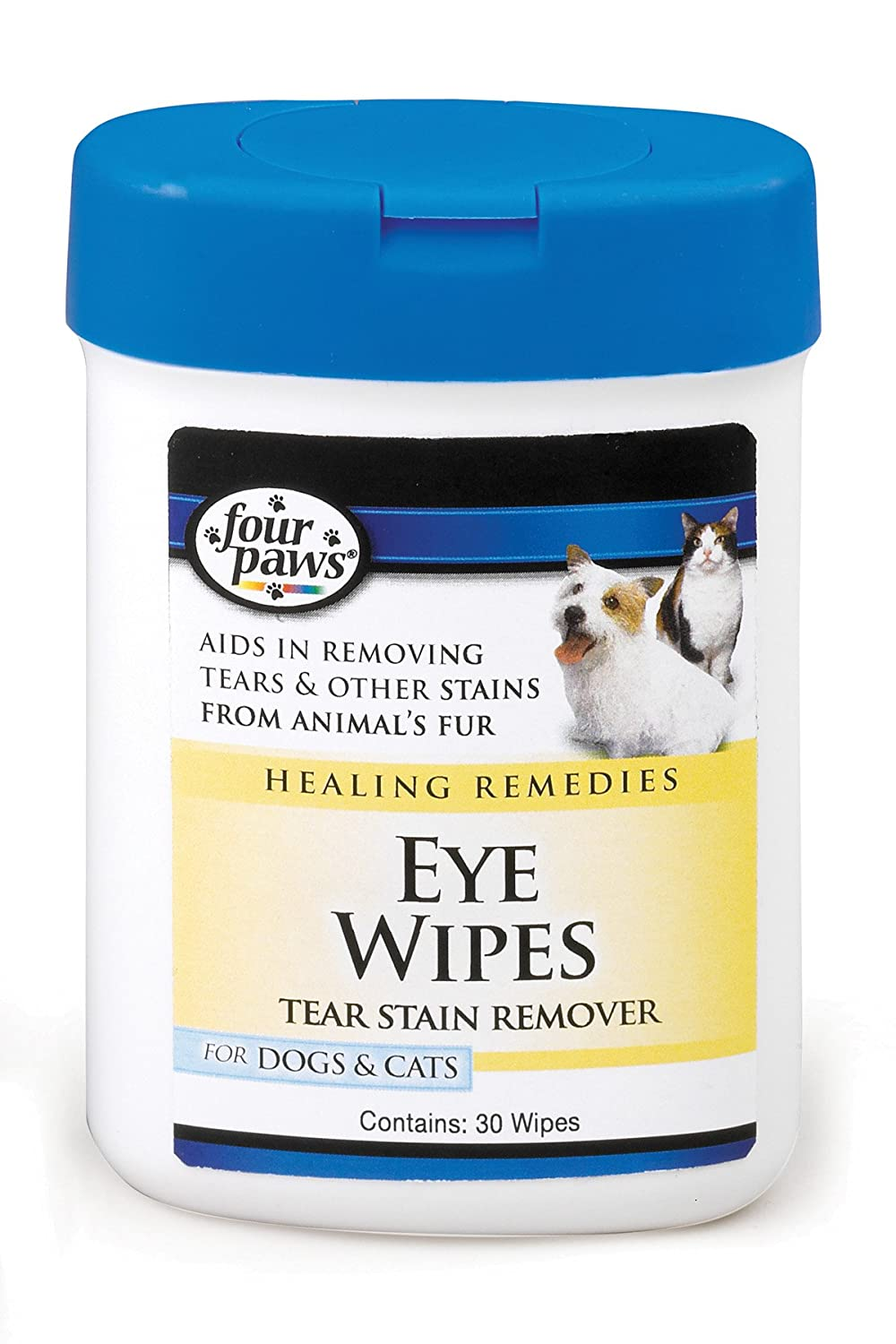 Four Paws Dog and Cat Eye Wipes, 25 Count 100202124