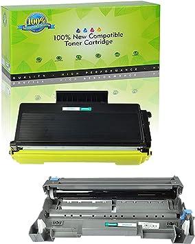 2 TN580 Toner Cartridge For Brother TN580 MFC-8460N HL-5240 HL-5250 MFC-8660DN