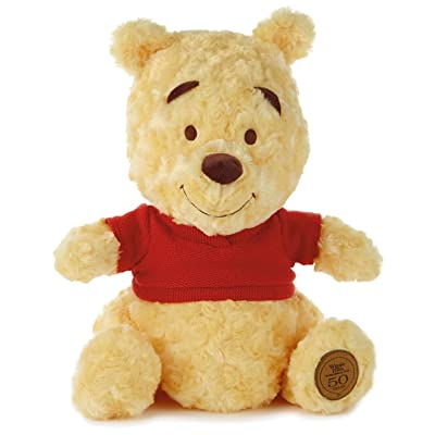Hallmark 50th Anniversary Winnie the Pooh Stuffed Animal: Toys & Games
