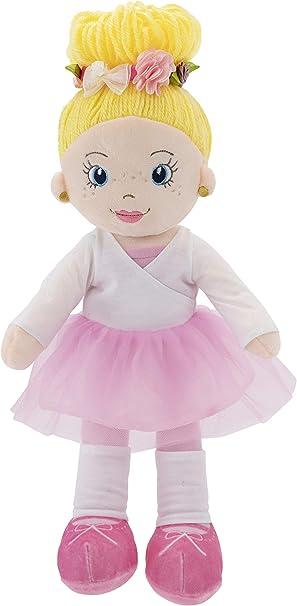 "Playtime by Eimmie Soft Rag Doll Ballerina, 14"""