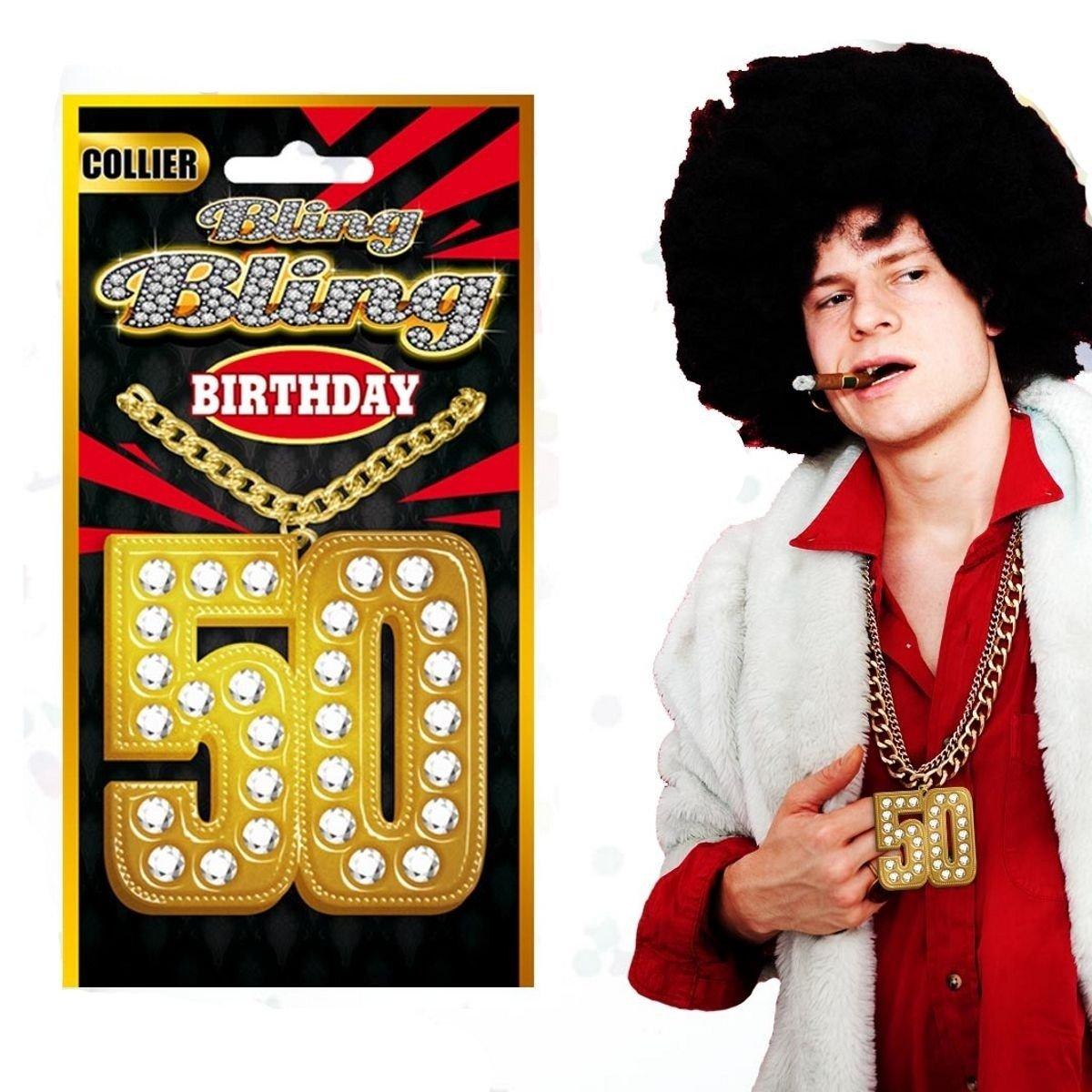 Collier Bling Bling spécial anniversaire 50 ans SLA