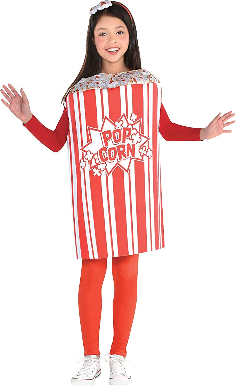 SUIT YOURSELF Disfraz de palomitas de maíz para niñas, estándar ...