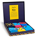 Happy Socks - Colorful 50th Anniversary The Beatles Cotton Socks for Men and Women
