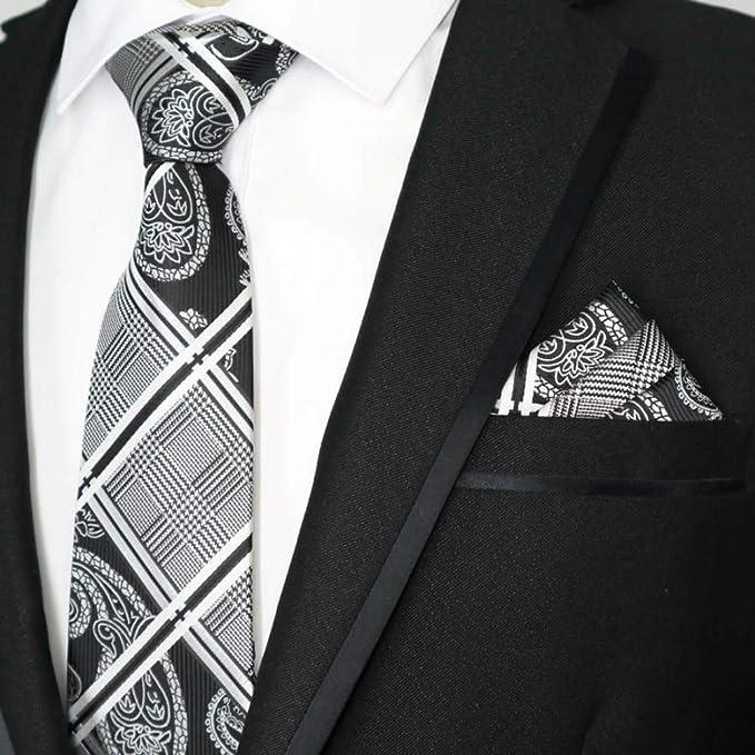 MU Ocio Hombres S Color de corbata Hombres Conjunto de corbata ...