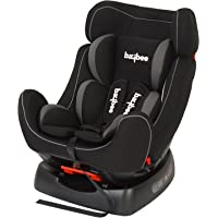 BAYBEE Grow and Go 2-in-1 Convertible Grey Baby Car Seat, for Kids From 0-7 Years