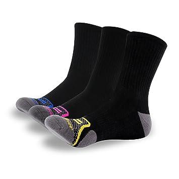 GATHER OTHER 3 Pares Calcetines de Deporte Coolmax Profesionales Fast Dry Transpirable para Carrera,Ciclismo,Hombre (Azul, UK 6-8/EU 38-42): Amazon.es: ...