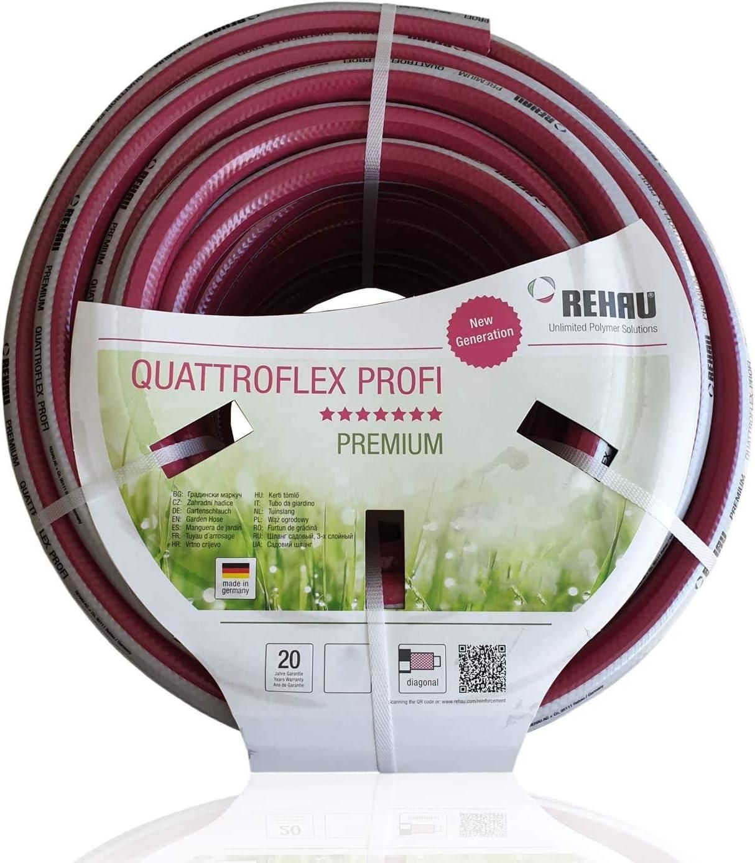Rehau Quattroflex-Plus//Greenline Tuyau d/'arrosage Tuyau Arrosage Tuyau