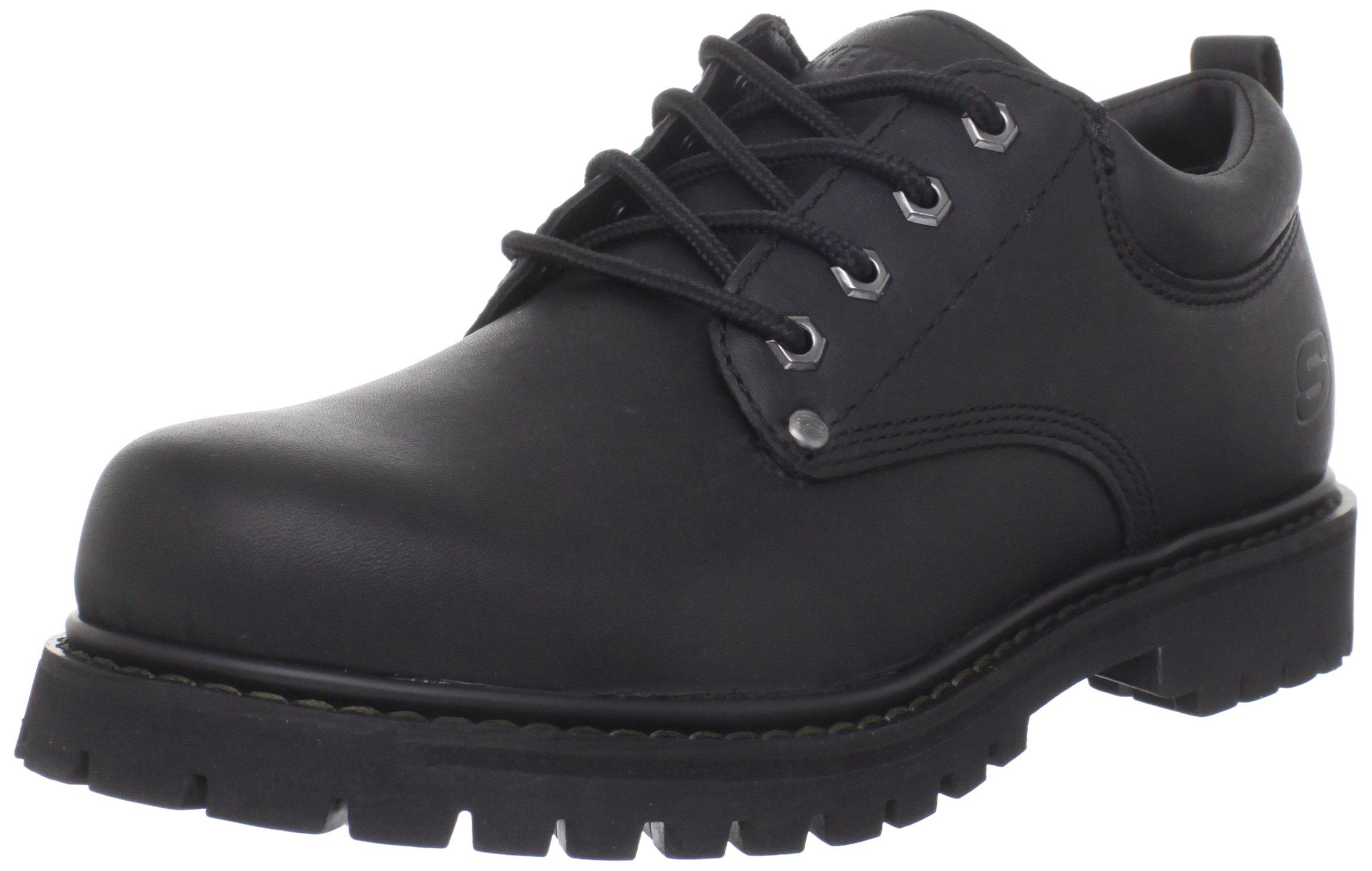 Skechers Men's Tom Cats Utility Shoe, Black, 8 M US by Skechers