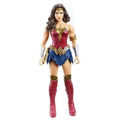 """Mattel DC Justice League True-Moves Series Wonder Woman Figure, 12"""": Toys & Games"""