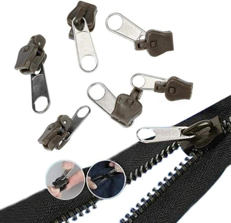 Nezzi 2020 Instant Zipper 1 Set, Black Set of 6