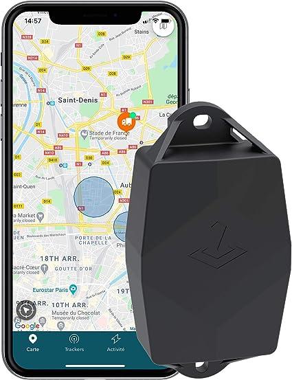 Traceur Gps Ultra Autonomie 5 Ans Sans Carte Sim Amazon Fr High Tech