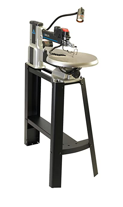Delta 40 695 20 inch variable speed scroll saw with light and delta 40 695 20 inch variable speed scroll saw with light and stand greentooth Choice Image
