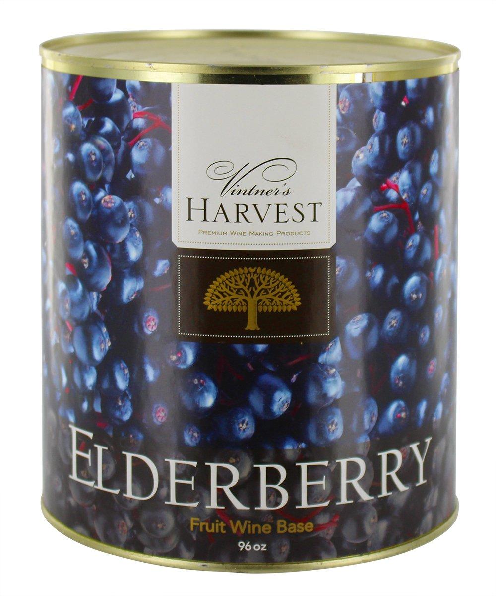 Elderberry (Vintner's Harvest Fruit Bases) : Wine Making Recipe Ingredient Kit 96oz