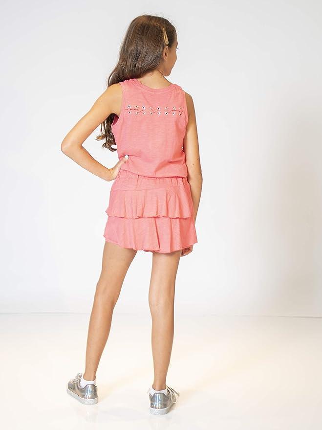 KIDPIK Double Ruffle Skort Fun /& Flairy Skirt /& Active Short Hybrid for Girls