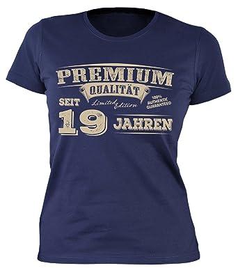 Sexy Madchen Damen T Shirt Exklusiv Zum 19 Geburtstag Cooles