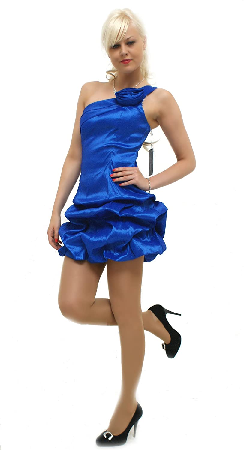 Cocktail dress with one strap (3657) immediately available