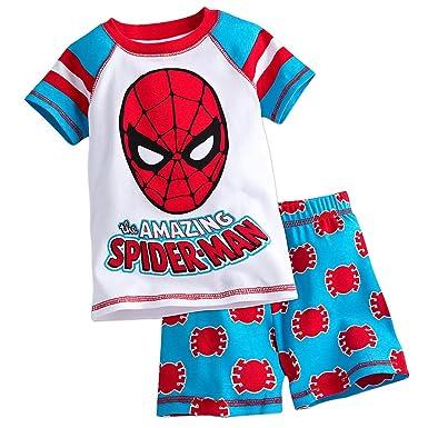 b87449de97b3 Amazon.com  Marvel Spider-Man PJ Pals Pajamas Short Set for Boys ...