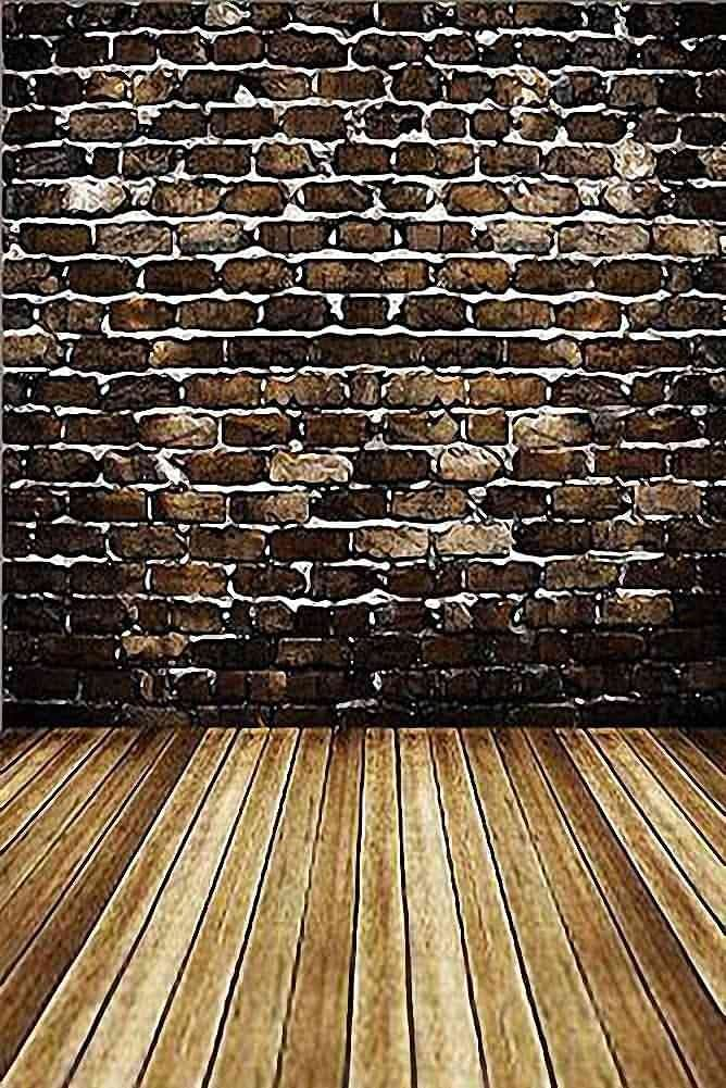 GladsBuy Brick Wall 8 x 12 Computer Printed Photography Backdrop Textures Theme Background HY-CM-1792