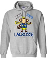 Sports Katz Womens 'Live Love' LACROSSE Hoodie