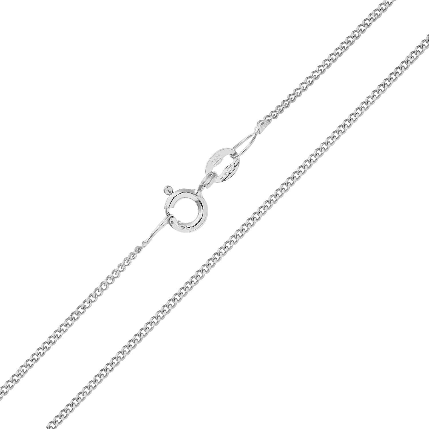 Citerna 9ct Gold 1.6g Curb Chain Necklace DLfax3K