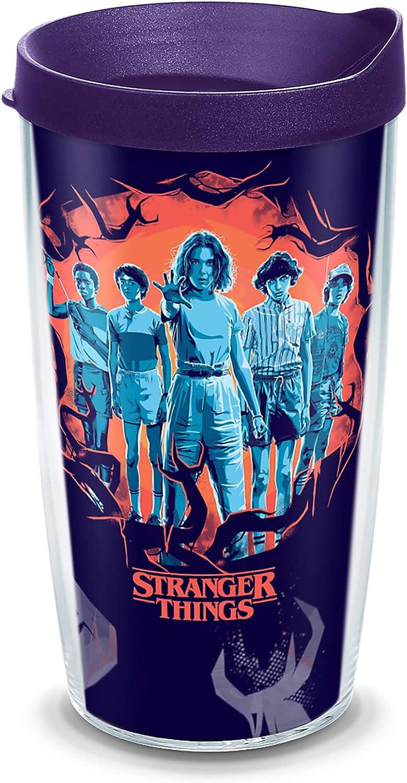 Tervis Stranger Things-Season 3 Uprising, 16 oz, Clear