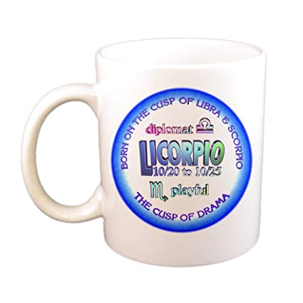 Amazon com | Cusp Of Drama: Libra-Scorpio Cusp Astrology Cup/Mug